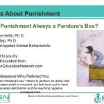 Facts About Punishment 1